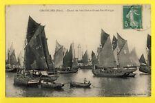 cpa FRANCE GRAVELINES (Nord) CHENAL du Petit et grand FORT PHILIPPE Bateau Pêche