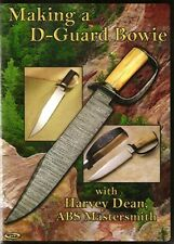 Making a D-Guard Bowie DVD/bladesmithing dvd/knives