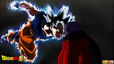 Poster 42x24cm Dragon Ball Super Jiren Goku Doctrina Egoista / Ultra Instinct 02
