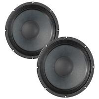 Pair Eminence Alpha-10A 10 inch Midrange MidBass Guitar Speaker Woofer 8ohm 300W