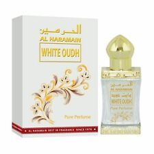 White Oudh Sweet Spicy Musky Perfume Oil/Attar/Ittar 12ml by Al Haramain