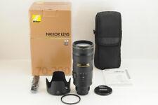 *MINT in BOX* Nikon AF-S 70-200mm f/2.8 G VR II from Japan #4620