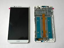 White LCD Display Touch Screen Digitiser Frame for Huawei Ascend Mate 7 TL10 L09