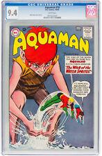 Aquaman #10 CGC 9.4 DC 1963 White Pages! Justice League! JLA! H11 920 1 cm