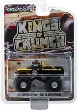 1:64 GreenLight *KINGS OF CRUNCH* 1971 Chevrolet K10 GULF OIL MONSTER TRUCK NIP