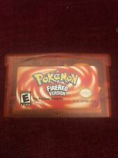 Gameboy Advance Pokemon Fire Red Version Tested and Working.
