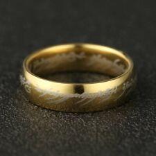 """Der Herr der Ringe - """"Der eine Ring"""" Edelstahl verschiedene Farben NEU"""