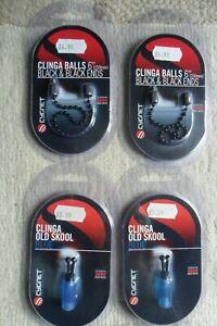 4 x Cygnet Muddy Waters Ball Chain & Old Skool Indicators Hangers Spare Heads