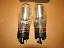 Pair of RCA 0A3 Radio Tubes, NIB, NOS