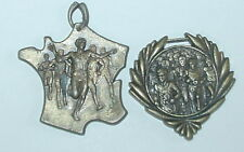 LOT 2 MEDAILLE COURSE A PIED BURES - COLLECTION
