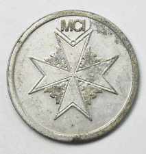 MCI Flying Ace Arcade Game Aluminum Gaming Token 22mm