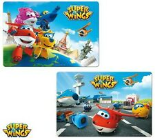2 X super Wings Tischset Platzset Platzdeckchen Untersetzer 3d Motive