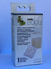 Fluval Edge HAGEN Aquarium ® REPLACEMENT FOAM & BIOMAX RENEWAL KIT