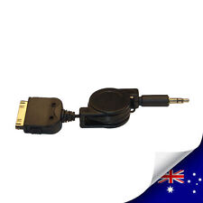 iPad / iPhone / iPod Dock Connector To 3.5mm Car Audio NEW (N024)