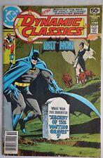 DYNAMIC CLASSICS STARRING BAT MAN #1 OCTOBER 1978 DC COMICS