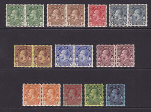 Turks & Caicos. 1928. SG 176-186, 1/2d to 10/-. Fine mounted mint.
