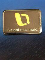 Rare Collectible Vintage i've got mac mogo. Metal Pinback Lapel Pin Hat Pin