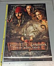 Pirates of the Caribbean 2 Dead Man's Chest Movie poster 24 x 36 inches