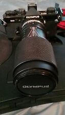 Olympus OM-2N SLR Film Camera with Zuiko 65-200mm Zoom Lens and Carrying Case