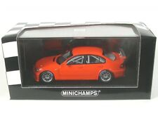 1 43 Minichamps BMW 320i E46 Streetversion 2005 Orange