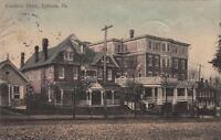 Postcard Cocalico Hotel Ephrata PA 1909