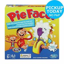 Pie Face Party Complete Modern Board & Traditional Games