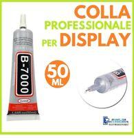 COLLA B-7000 PER DISPLAY RIPARAZIONE SMARTPHONE CELLULARI VETRI TOUCH LCD 50ml