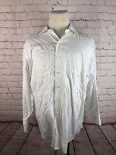 Brooks Brothers Men's White Herringbone Dress Shirt 16.5 33 $125