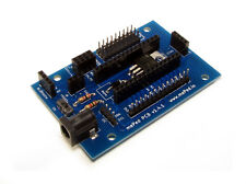 mePed Quadruped Robot PCB - for Arduino Nano, WiFi, Bluetooth, Ultrasonic, & IR