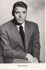 Burt Lancaster Kolibri Verlag Postkarte 50er Jahre D 20 + P 3027