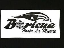 "/"" REPUBLICA DOMINICANA HASTA LA TAMBORA/"" MAP OUTLINE  VINYL DECAL STICKER CAR,"