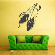 Wall Vinyl Sticker Bedroom Decal Feathers Feather Decal (Z1128)