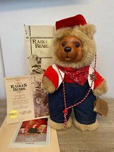 Robert Raikes Bears: Jesse, Original Box w/Certificate Of Authenticity