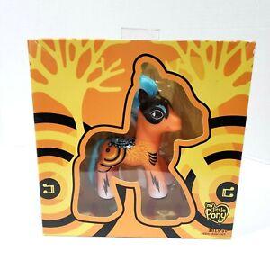 My Little Pony G3 Orange Blue Pop Art Pony Stars Music Black Mask 2008 Comic Con