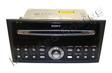 GENUINE FORD MONDEO MK3 SONY 6 CD PLAYER RADIO + CODE 2004 - 2007