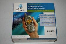 Vintage 2001 Cell Mobile Phone Siemens S46 GSM GPRS TDMA