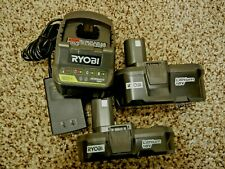 New RYOBI Charger and two extra Batteries