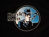 Dutch Bros Brothers Coffee Mafia - HTF Smoke Logo Men's Size XXL 2XL Tee T-Shirt