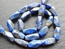 "CUT LAPIS NUGGETS, approx 5x12mm, 12.5"", 24 beads"