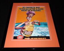 2001 Kraft Cheez Whiz Framed 11x14 ORIGINAL Vintage Advertisement