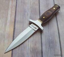 9 INCH MTECH FIXED BLADE FULL TANG DOUBLE EDGE DAGGER BOOT KNIFE W/ NYLON SHEATH