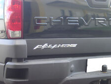 CHEVY AVALANCHE 3D EMBLEM LOGO ABS CHROME TRIM 02 03 04 05 06