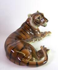 sehr grosser Tiger -  Keramos Wien Austria - 43cm x 20cm