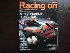 Motorsport magazine Racing on Vol 415, MAZDA Tough Struggle in Le Mans !