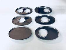 Schalldämpfer Deckel 1x 63,5mm außermittig Edelstahl oval 260mm x 127mm
