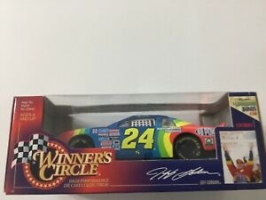 Jeff Gordon Winners Circle 1997 Stock Car Series Die Cast 1:24 $1,000,000 bonus