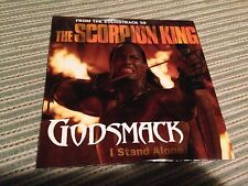 GODSMACK SPANISH CD SINGLE SPAIN 1 TRACK CARD SLEEVE SCORPON KING OST THE ROCK