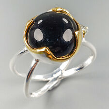 Hanmade Ring Natural Spinel 925 Sterling Silver Ring Size 8.75/R114056