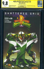 SS CGC MIGHTY MORPHIN POWER RANGERS 30 SIGNED BUZZ VARIANT