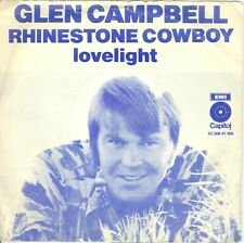 "GLEN CAMPBELL - RHINESTONE COWBOY ( DUTCH CAPITOL 5C006-81965) 7""PS 1975"
